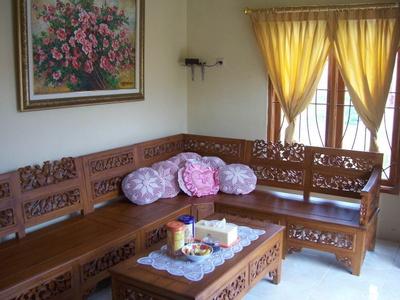 kursi tamu kayu jati minimalis merupakan kursi tamu minimalis modern